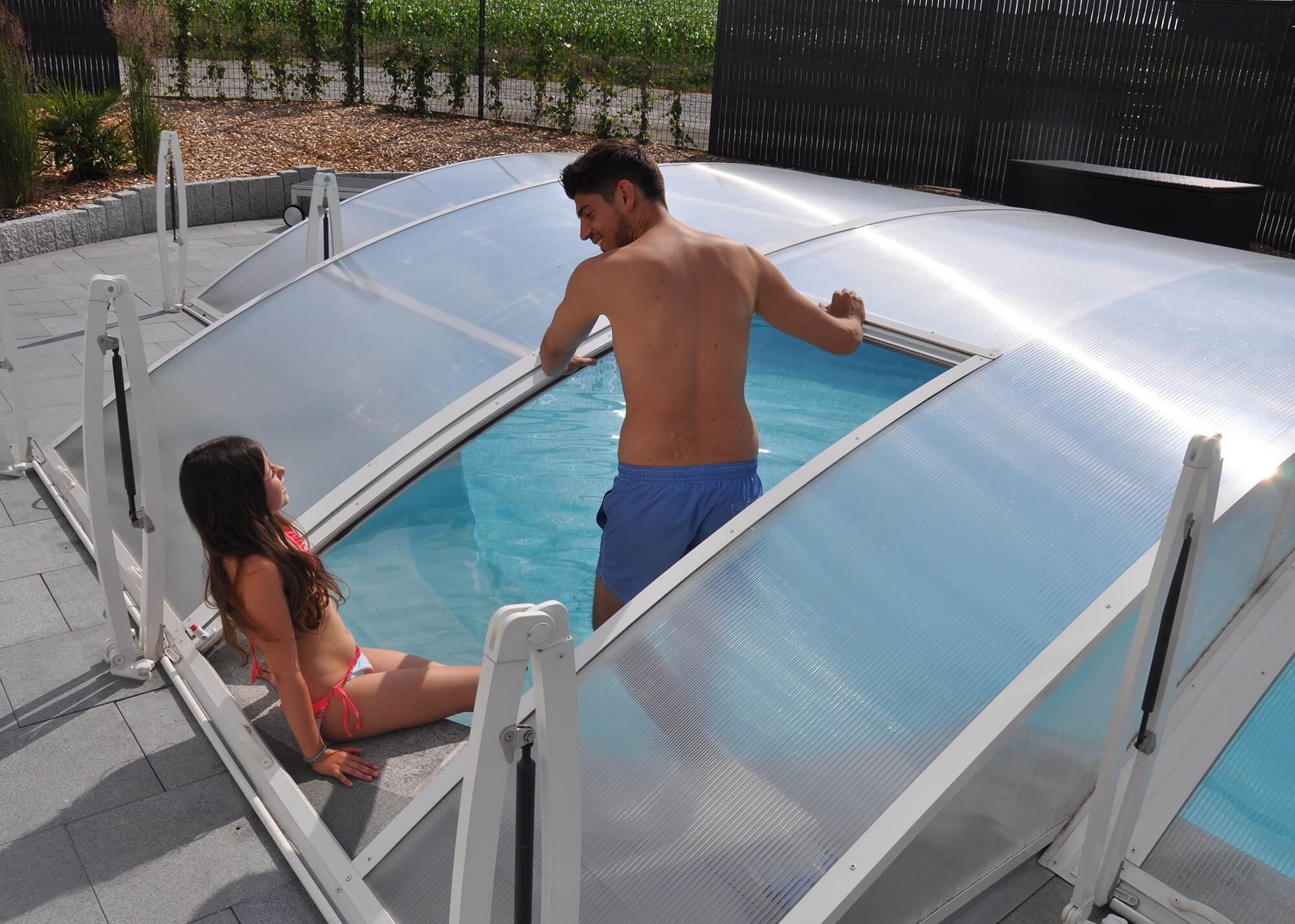 video hivernage piscine waterair