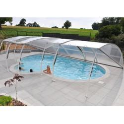 Abri amovible pour piscine