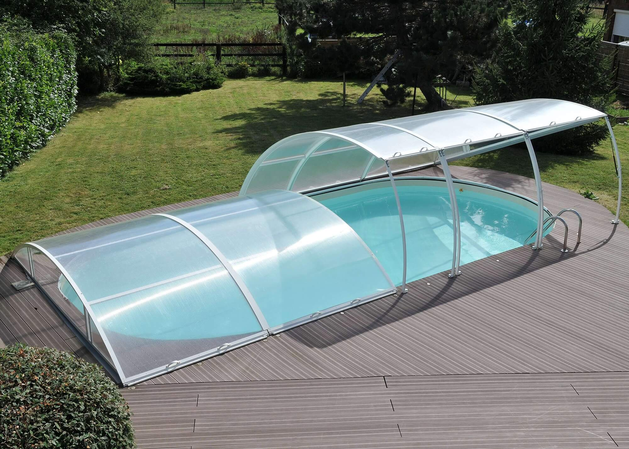 Abri amovible pour piscine piscines waterair for Abri piscine occasion