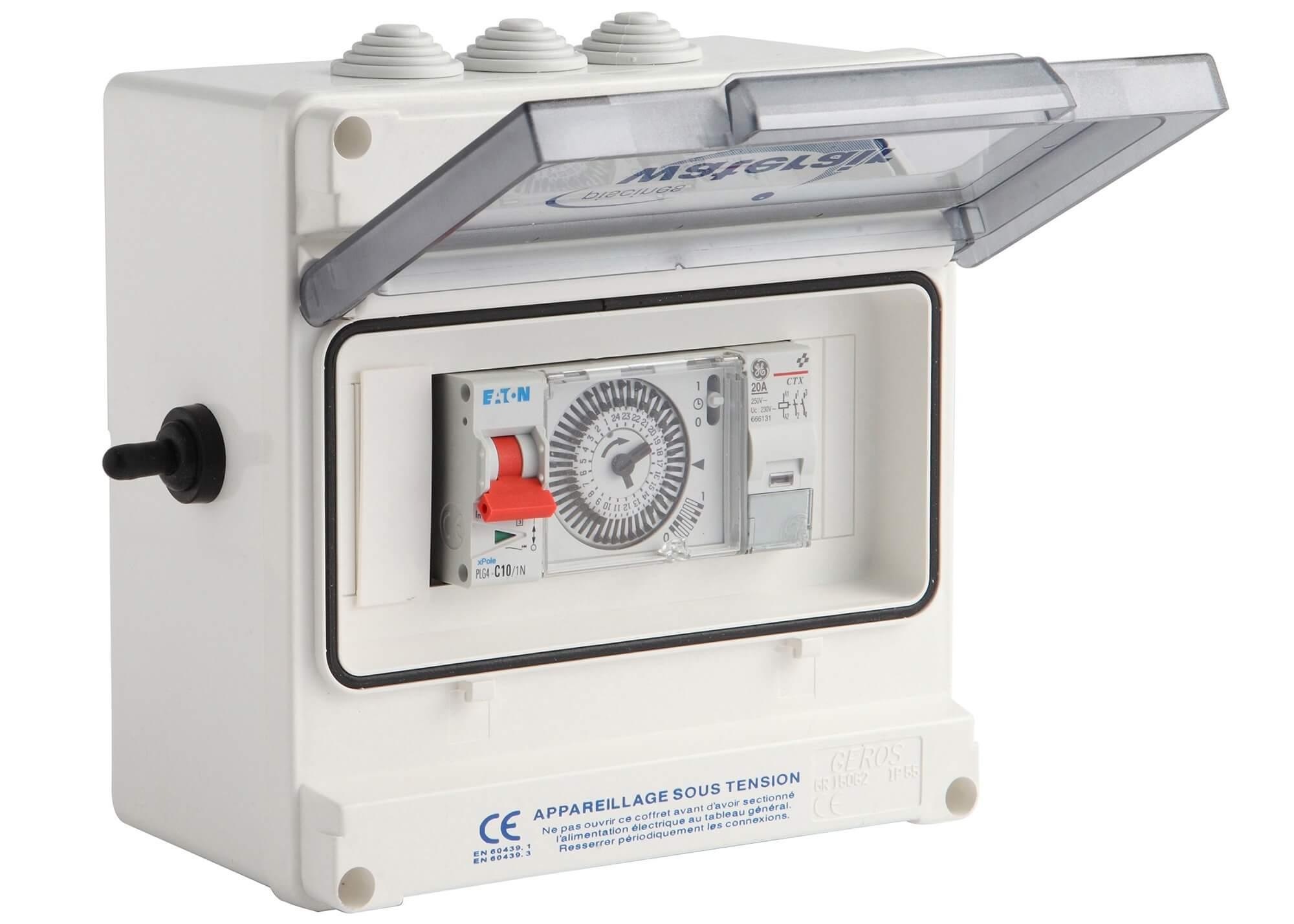Coffret de filtration pour escawat piscines waterair for Notice filtration piscine