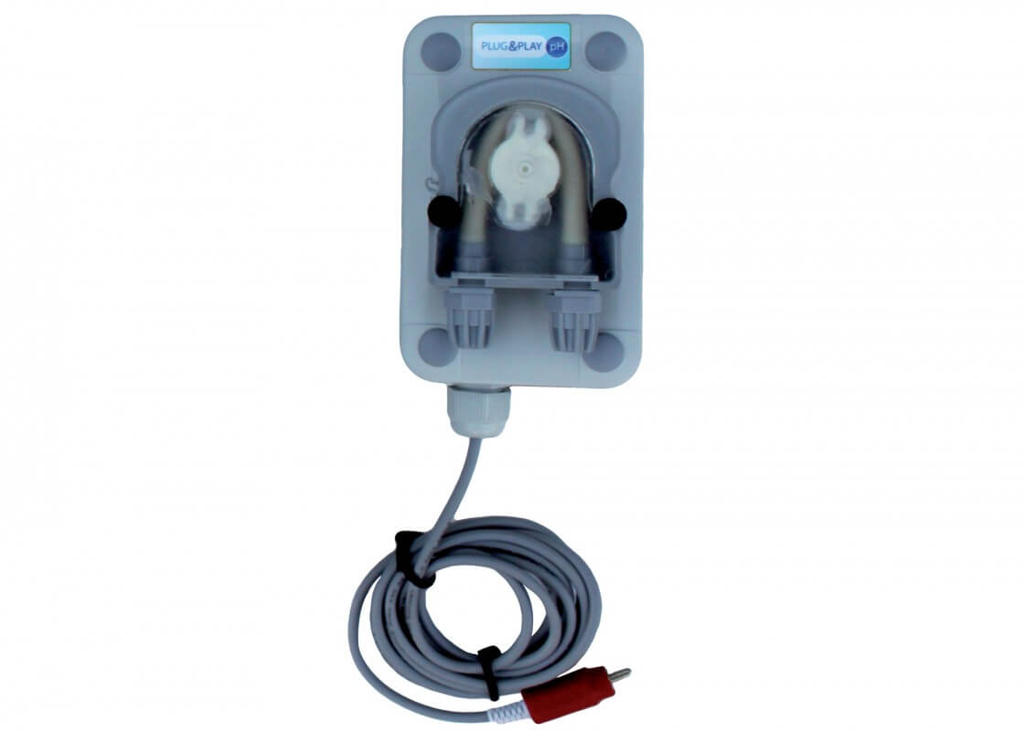 Option Plug & Play pH Watersalt LCD