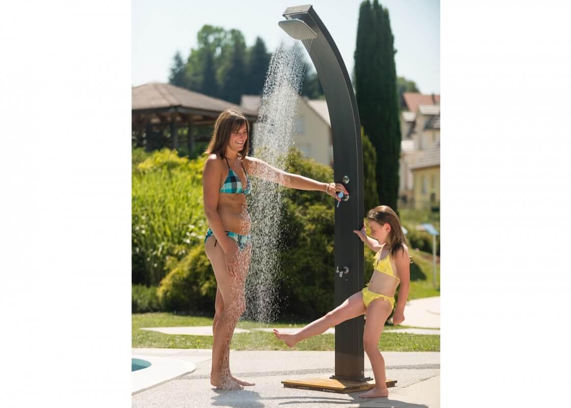 Douche solaire spring piscines waterair - Douche piscine solaire ...