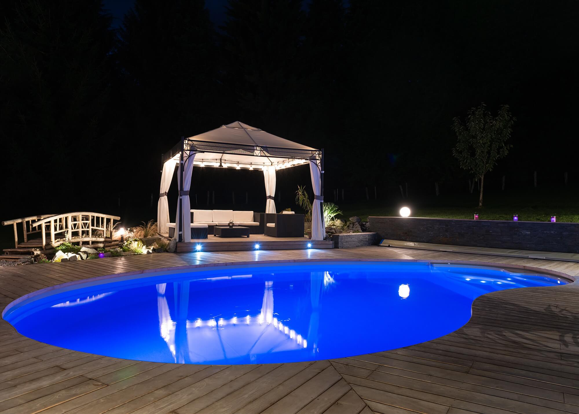 Ampoule leds piscines waterair for Piscine enterree 6x4