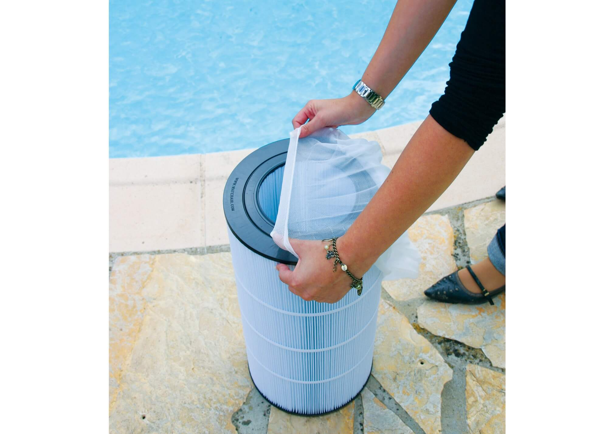 sac filtrant 10 pi ces piscines waterair. Black Bedroom Furniture Sets. Home Design Ideas