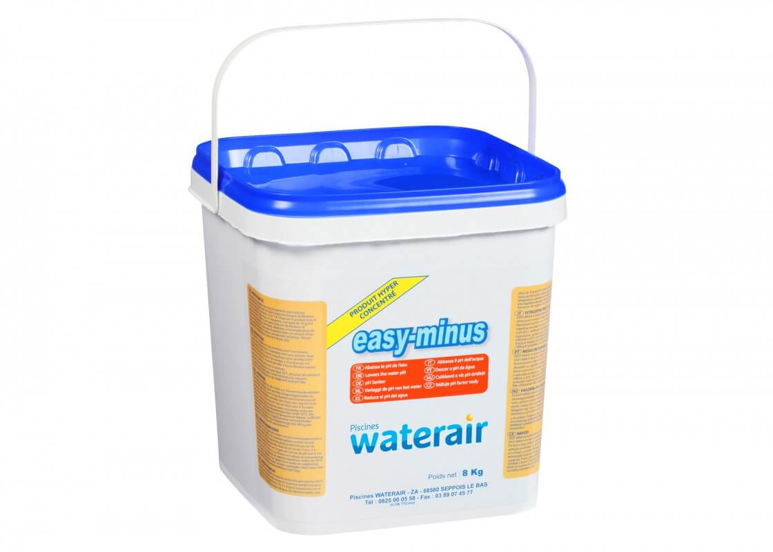correcteur de ph easy minus piscines waterair