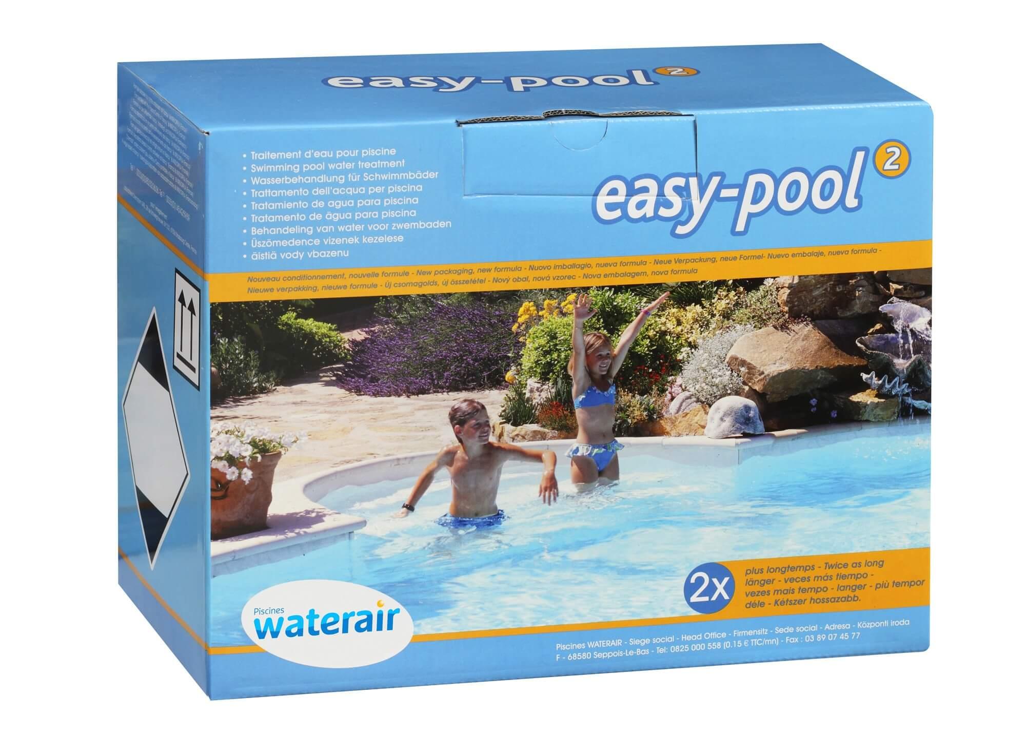 Traitement eau verte piscine waterair - Rattrapage eau verte ...