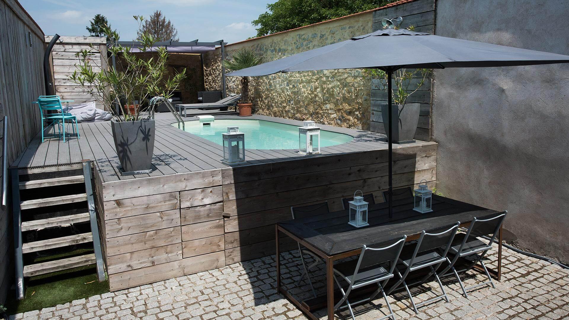 piscine ovale olivia l 39 espace de nage id al piscines waterair. Black Bedroom Furniture Sets. Home Design Ideas