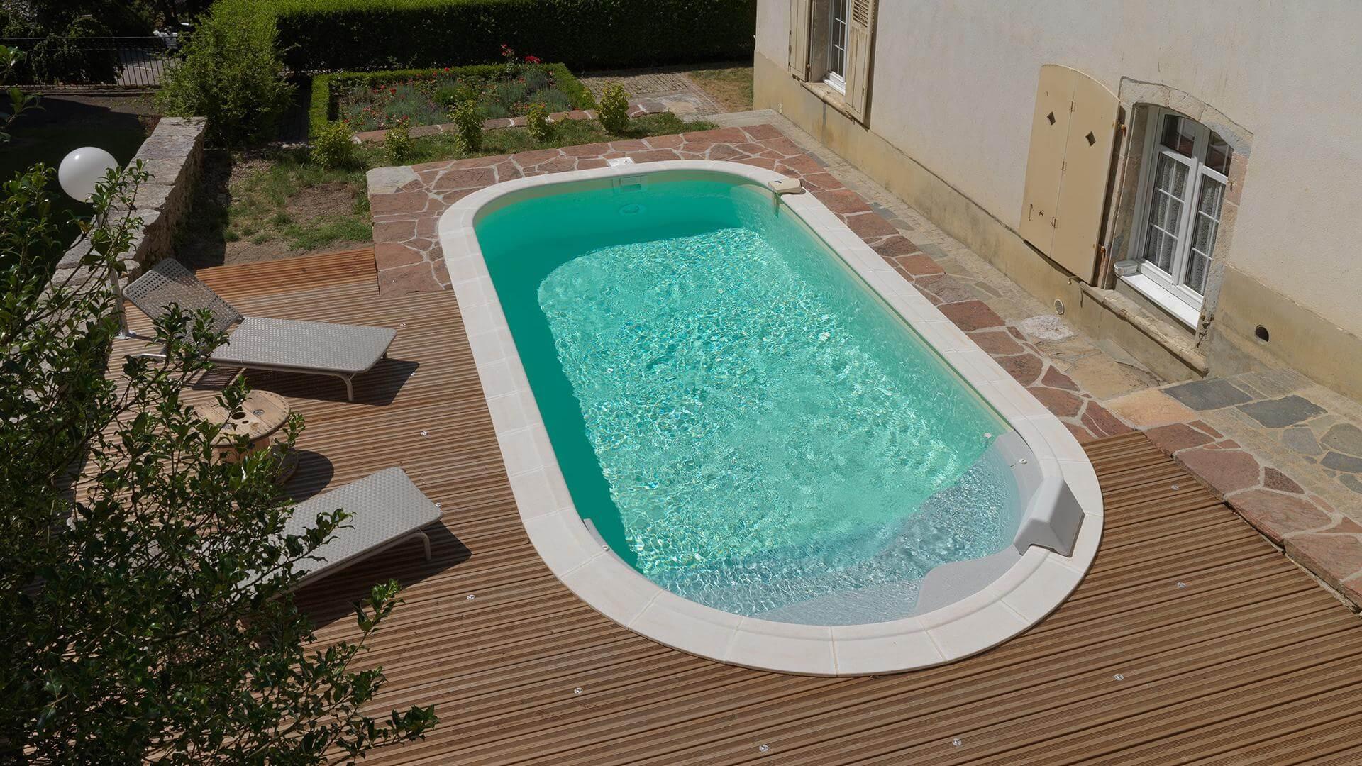 Projet Piscine Saint Andre De Cubzac piscine rectangle luna | piscines waterair