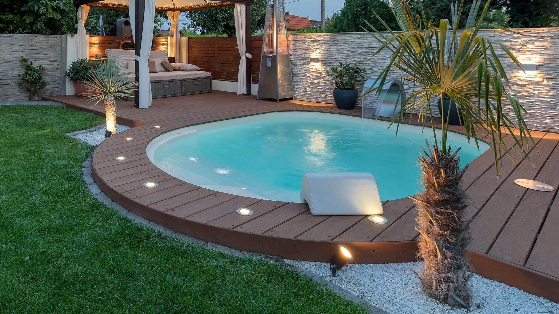 Mini Piscine Petit Jardin piscine lola mini - la petite piscine pour tous | piscines