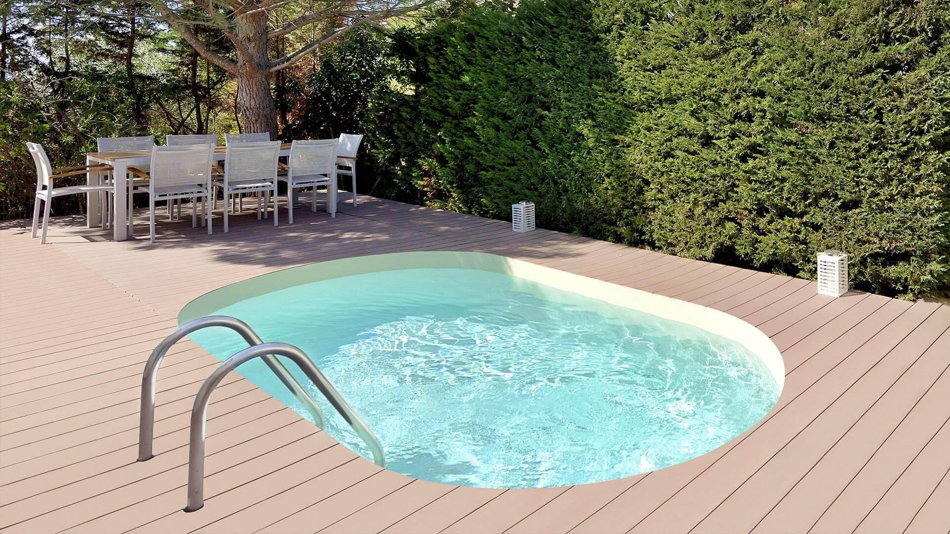 Swimmingpool Olivia Mini Klein Aber Unheimlich Praktisch