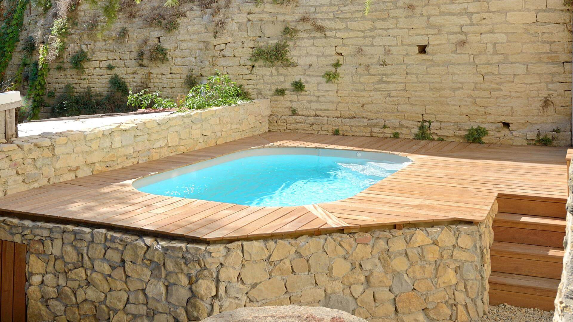 piscina waterair sara mini il relax nel formato ridotto. Black Bedroom Furniture Sets. Home Design Ideas